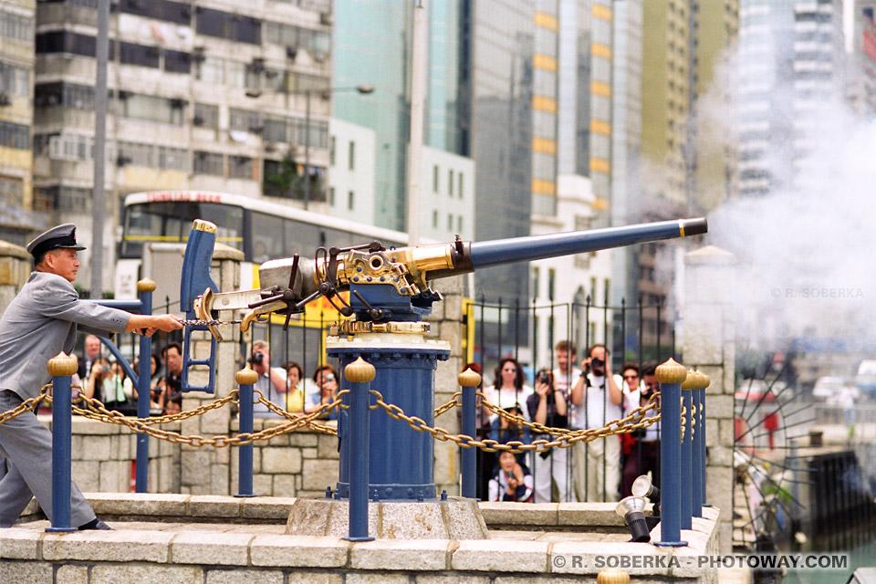 image de la Rétrocession de Hong-Kong à la Chine populaire le 1er juillet 1997
