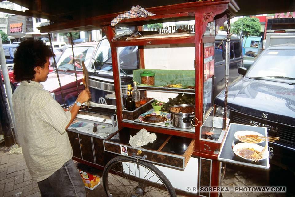 Photos des cuisines ambulantes : photo de la cuisine indonésienne