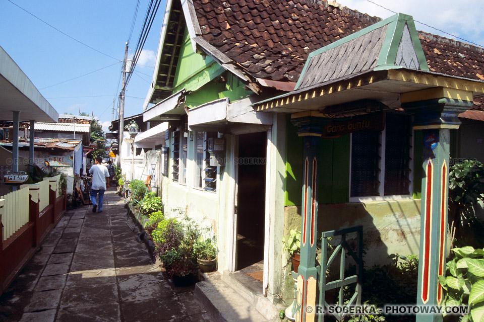 Information sur l'hebergement en Indonésie se loger chez l'habitant à Jogjakarta