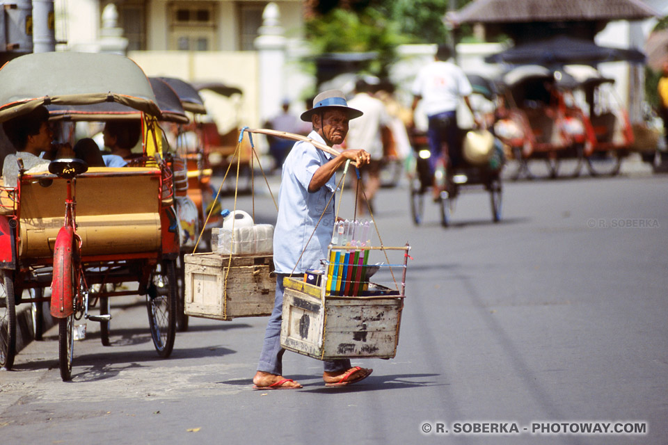 Photos de marchands indonésiens : photo d'un machand indonésien