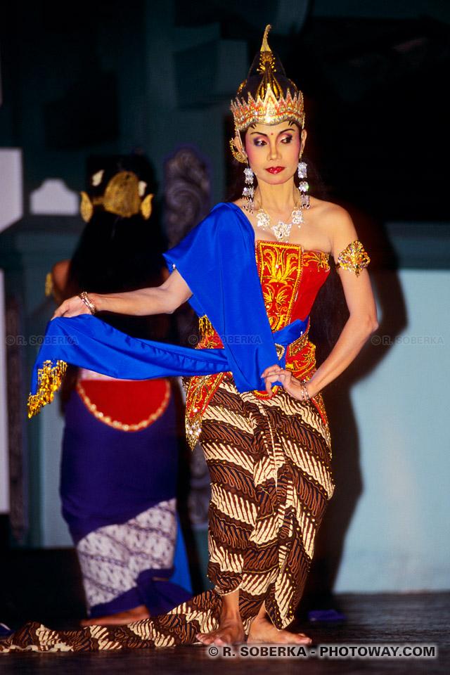 Photos du Ramayana : photo du spéctacle traditionnel indonésien