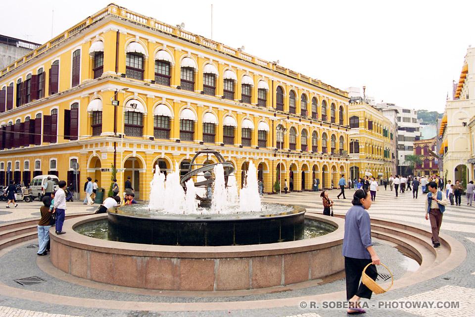 Image Photos de Macao images du centre ville de Macao photo reportage