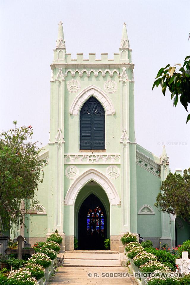 image : Photos d'église chrétienne en Chine à Macao