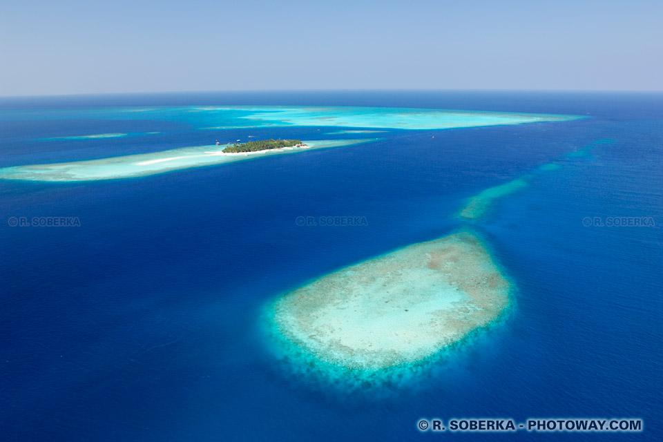 Fond d'écran des Maldives fonds d'écran atoll wallpaper vue aérienne