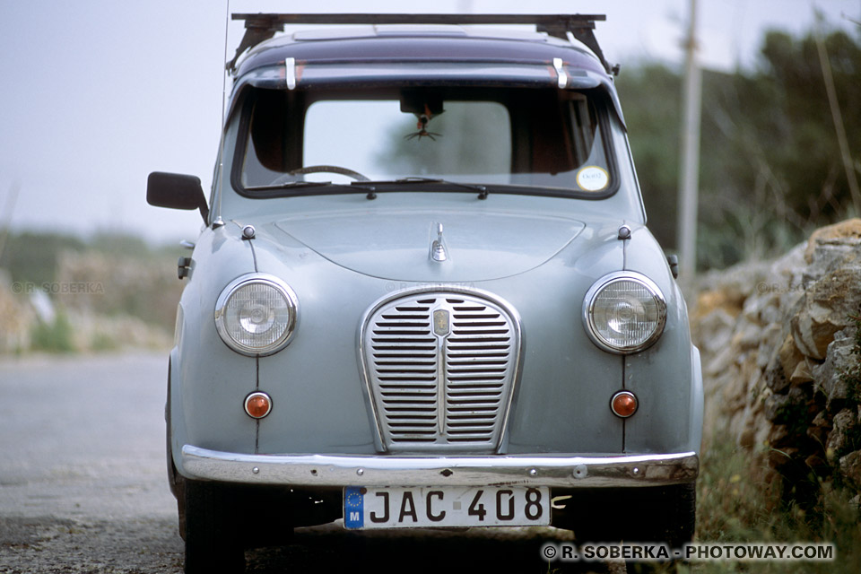 Photos de vieilles Anglaises photo d'une Austin vieille anglaise Malte
