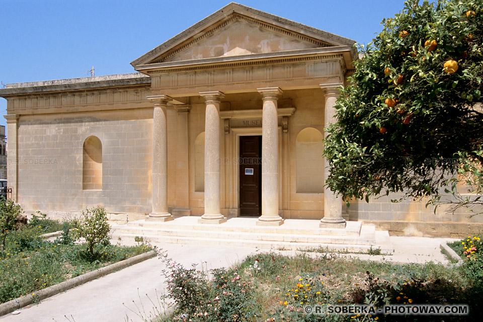 Images Photos de villas romaines photo d'une villa romaine de Rabat Malte