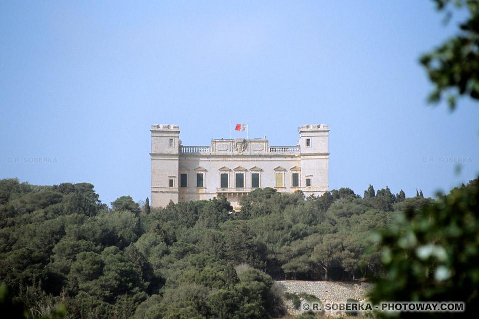 Images Photos de palais photo Verdala Palace palais du président de Malte