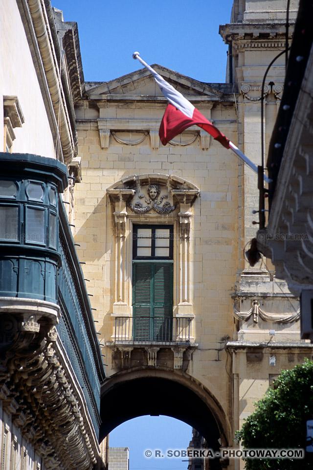 Images Art baroque maltais photos des ornements baroques de la Valette