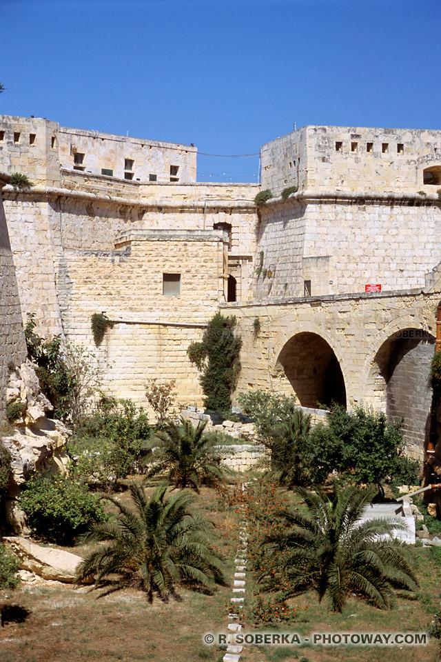 Images du fort saint-elme Histoire de Malte informations sur le Grand siège de La Valette