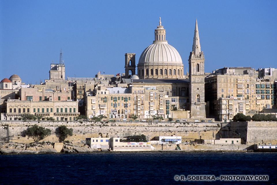 Images et photos de La Valette à Malte