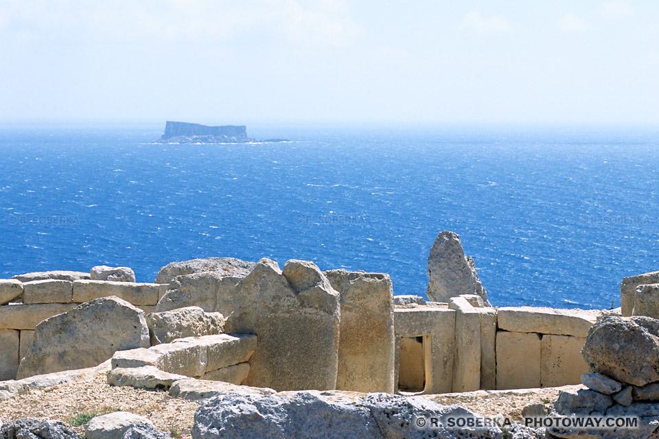 Photos Photos de Hagar Qim et Mnajdra photo du site mégalithique à Malte