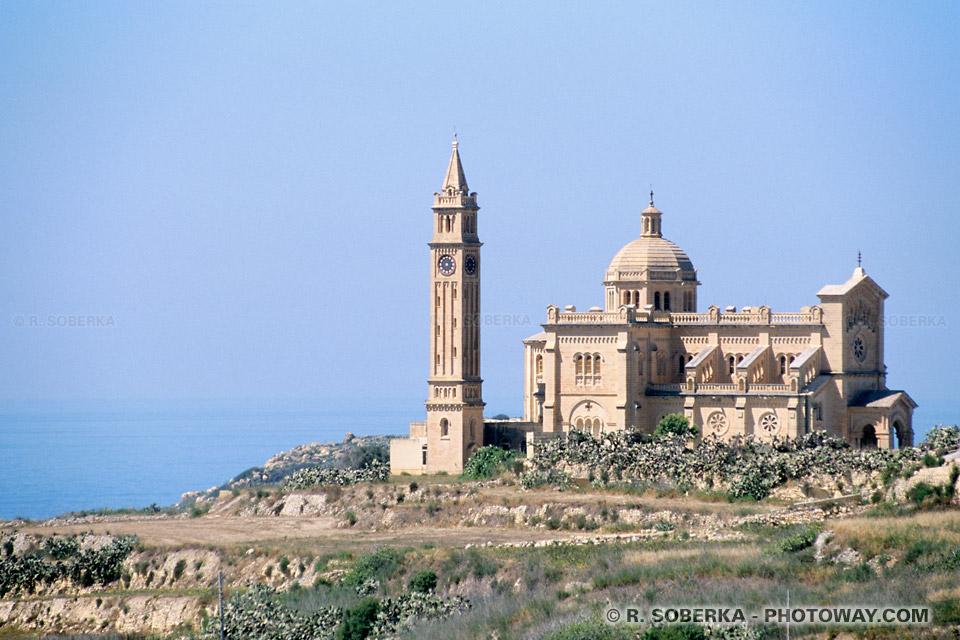 Images Photos de basiliques photo de basilique Ta'Pinu Sainte Vierge de Gozo