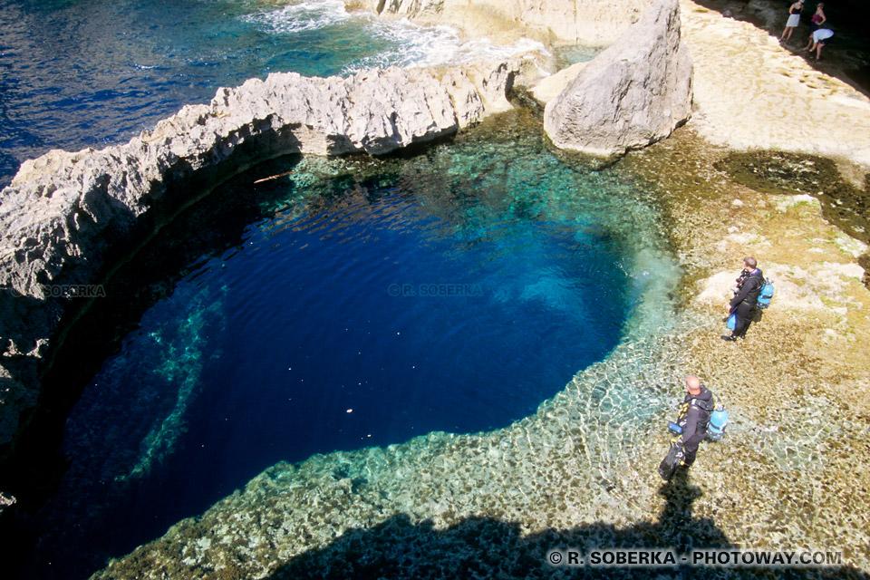 Images Photos de plongeurs photos de plongée à Malte et Gozo photo