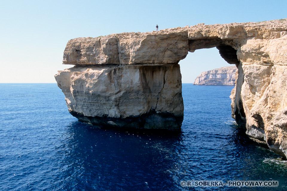 Images et Photos Azur Window photos de Gozo photo du site naturel à Malte