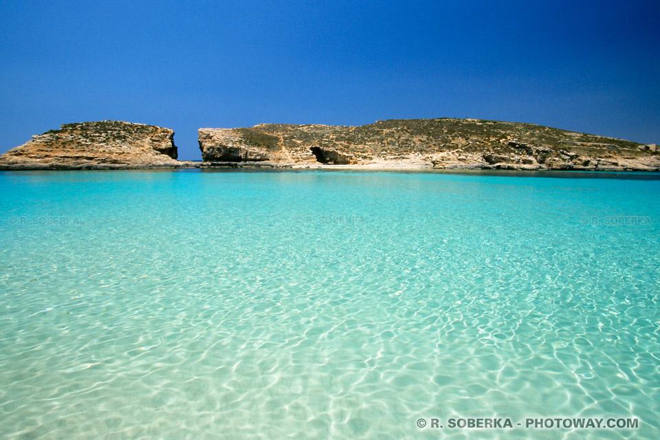 Images Photos du Blue Lagoon photo du Blue Lagoon à Comino île de Malte