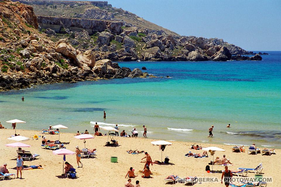 Photos de plages à malte Tourisme à Malte guide touristique sur Malte photos plages à Malte