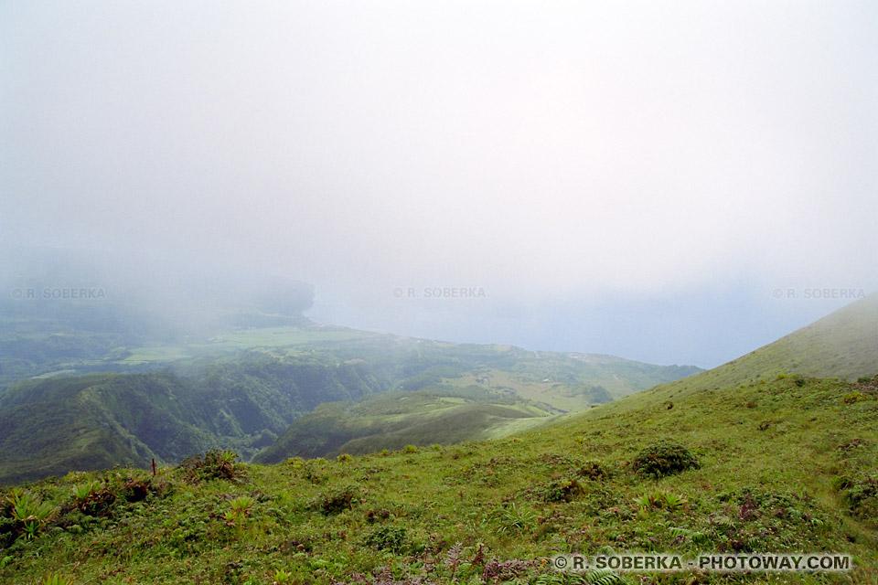 Photo du Chinois sommet de la Montagne pelée Martinique
