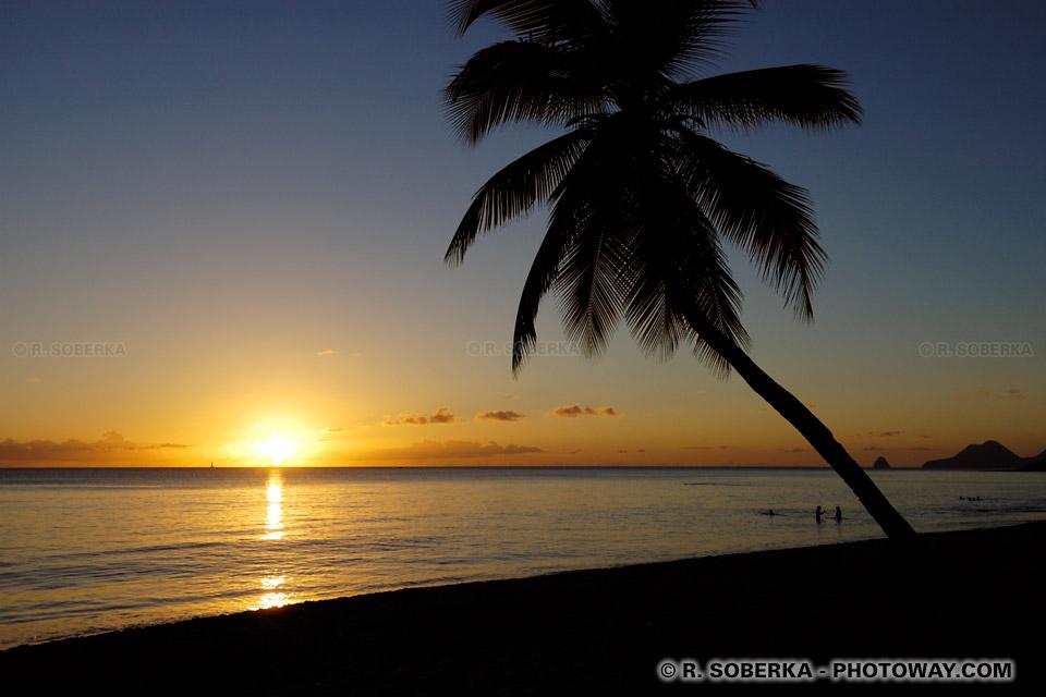 Photos De Coucher De Soleil Sur La Mer En Martinique Phototheque
