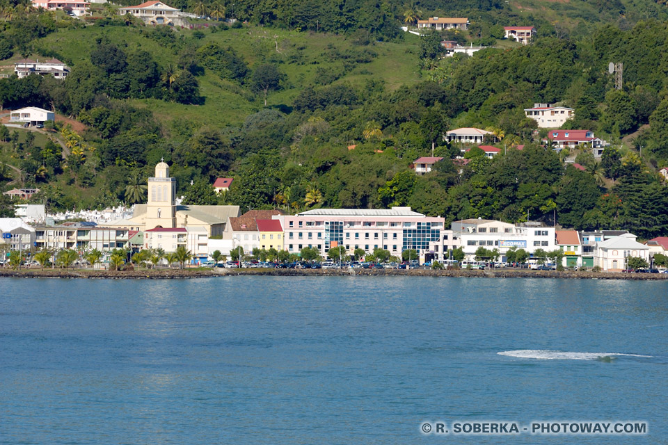 ville de la trinité en Martinique
