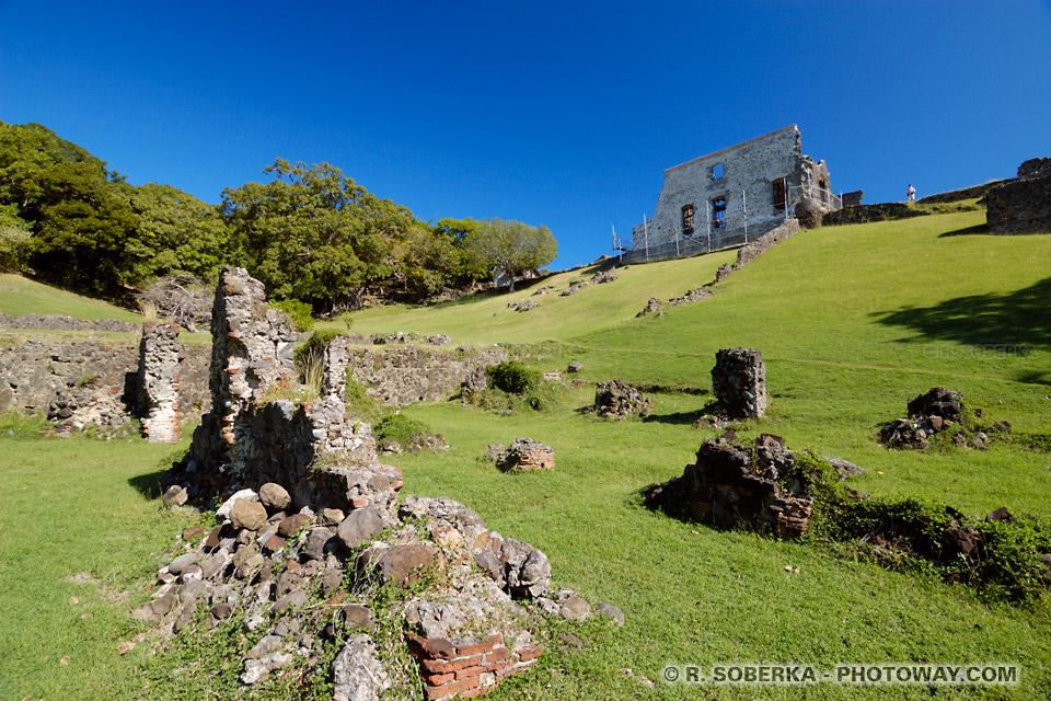 Château DuBuc sur la presqu'île de la Caravelle