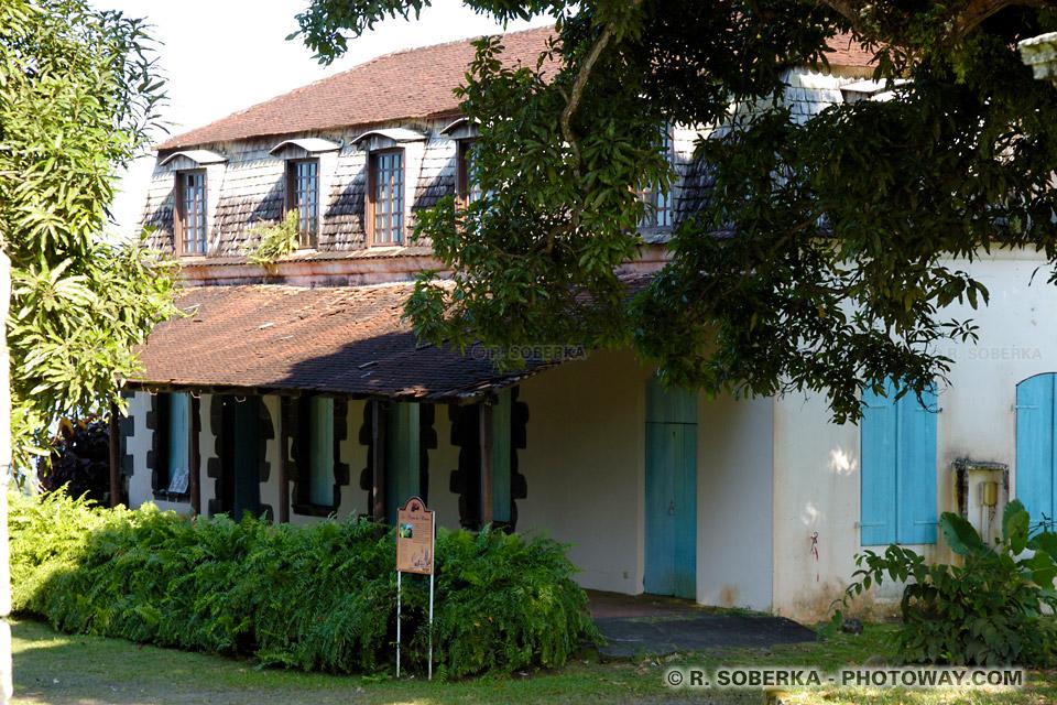 maison du maitre de la Plantation Leyritz en Martinique
