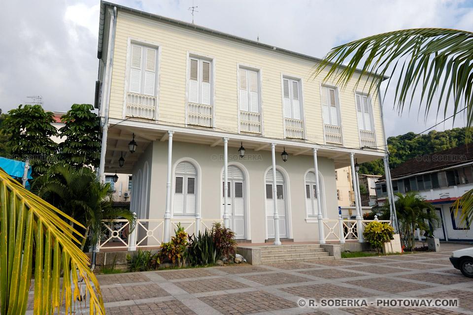 ville de Saint-Pierre en Martinique