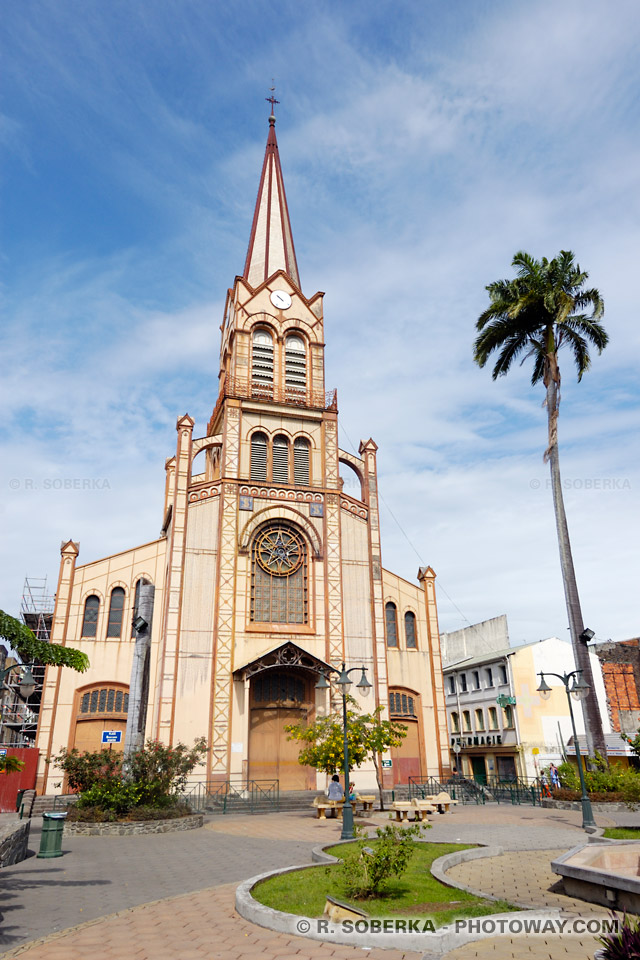Cathédrale de Fort-de-France Martinique
