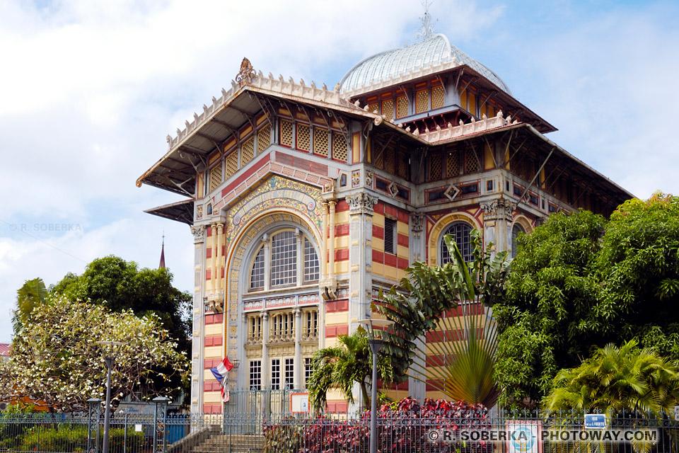 Bibliothèque Schoelcher à Fort-de-France en Martinique