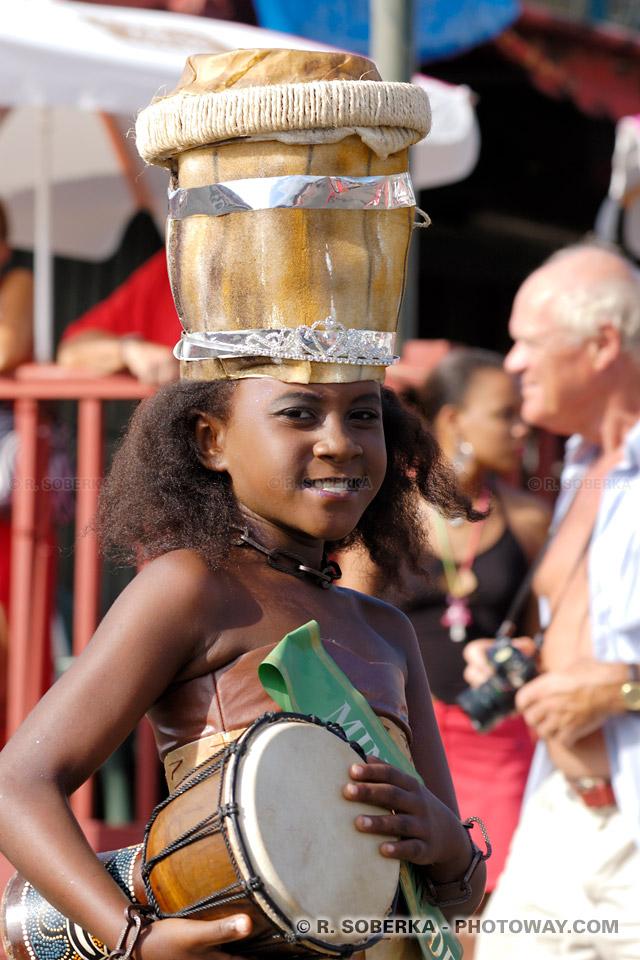 Mini-miss carnaval Martinique
