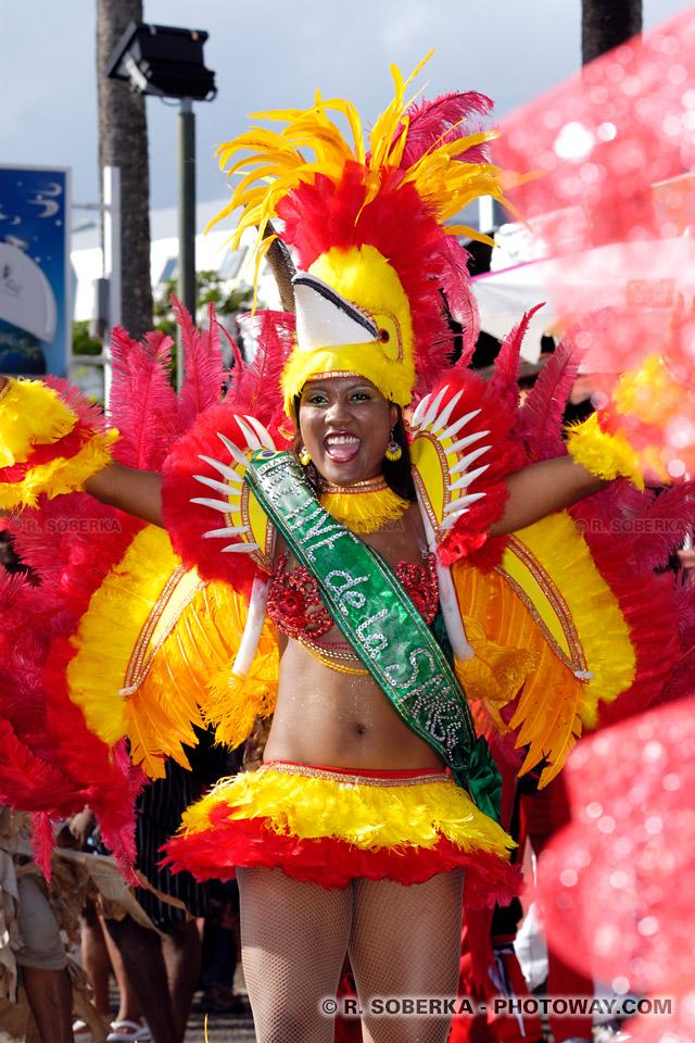 Samba danse brésilienne du Carnaval