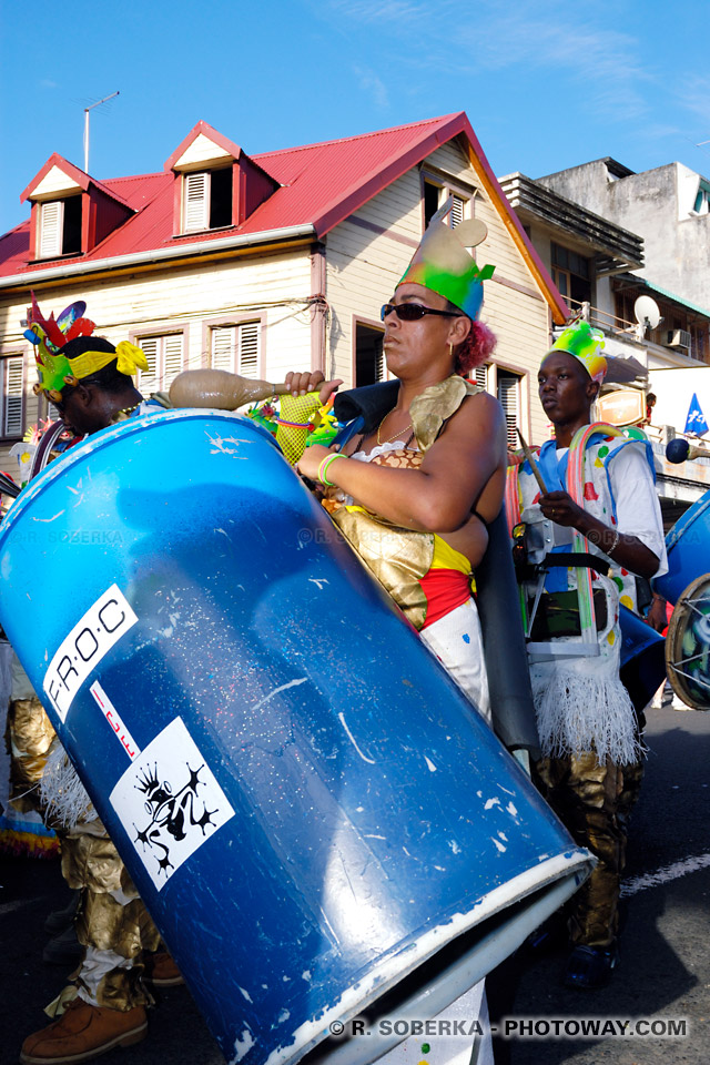 percussionniste carnaval