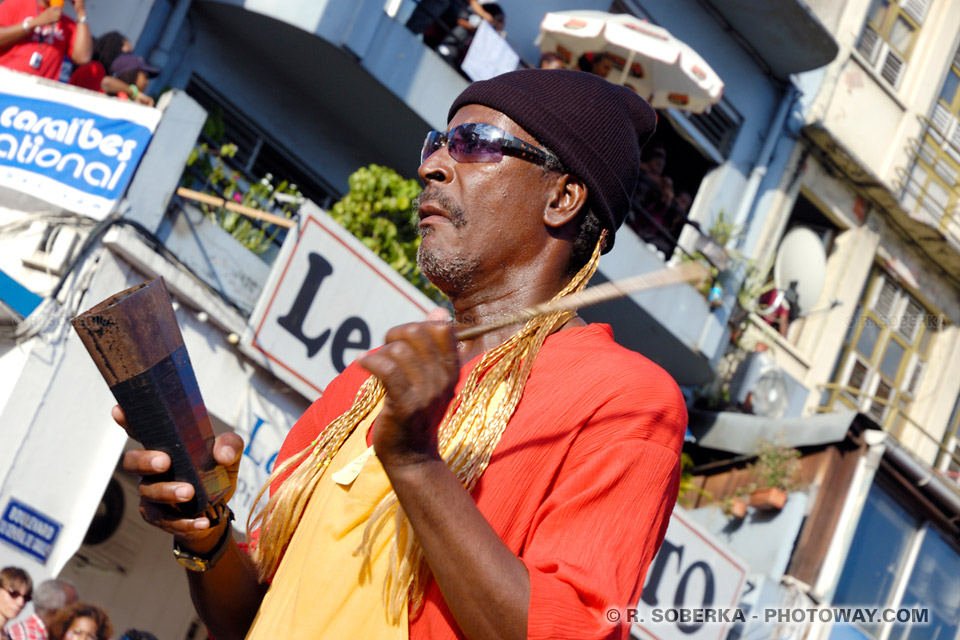 musiques antillaises photo musique antillaise du Carnaval