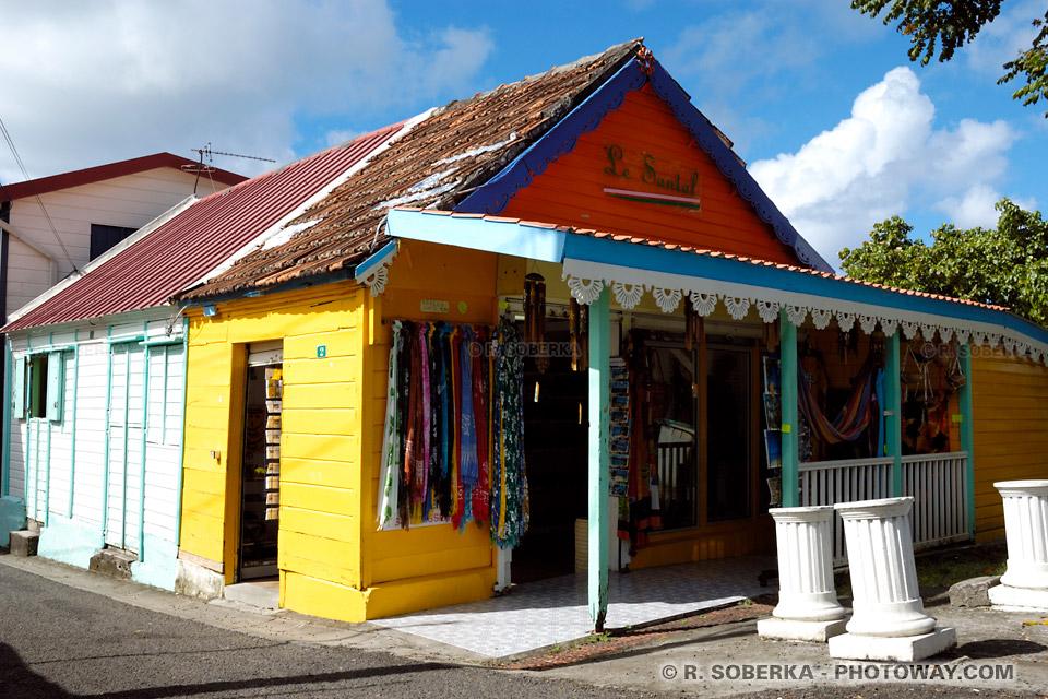 case créole en Martinique