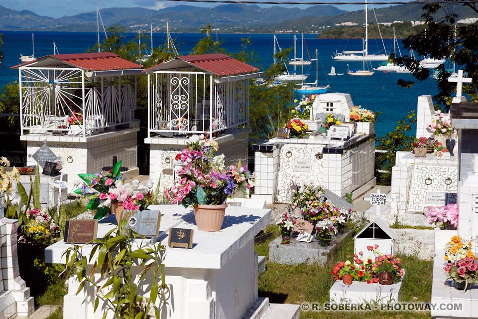 cimetière Sainte-Anne Martinique