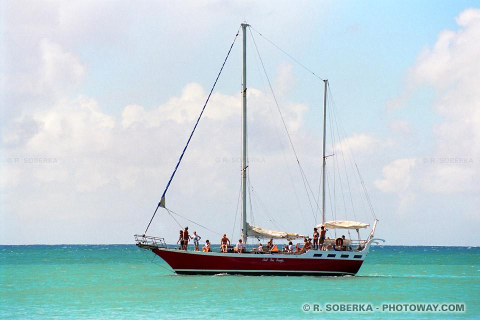 Beateau de croisières Antilles