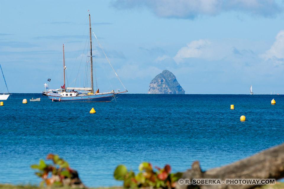 ligne d'horizon mer des Caraïbes