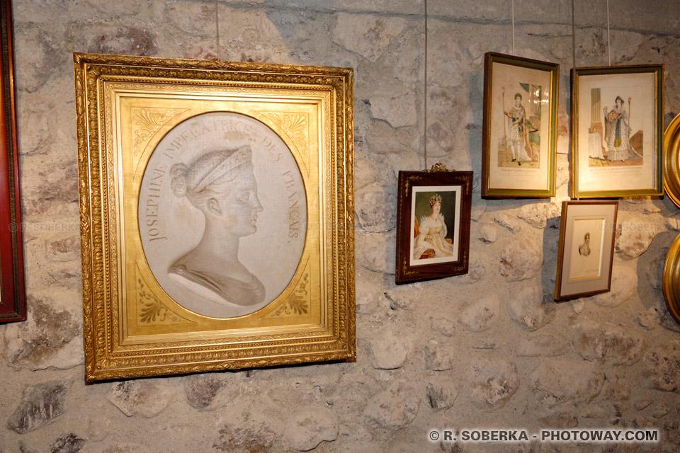 Photos de l'impératrice Joséphine de la Pagerie