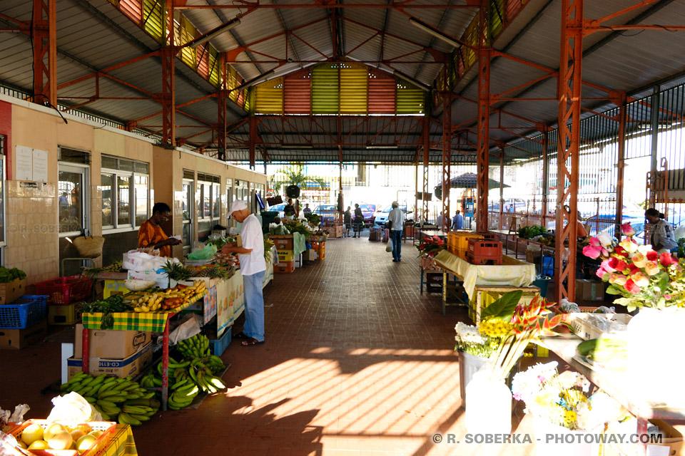 marché couvert ville du Robert Martinique