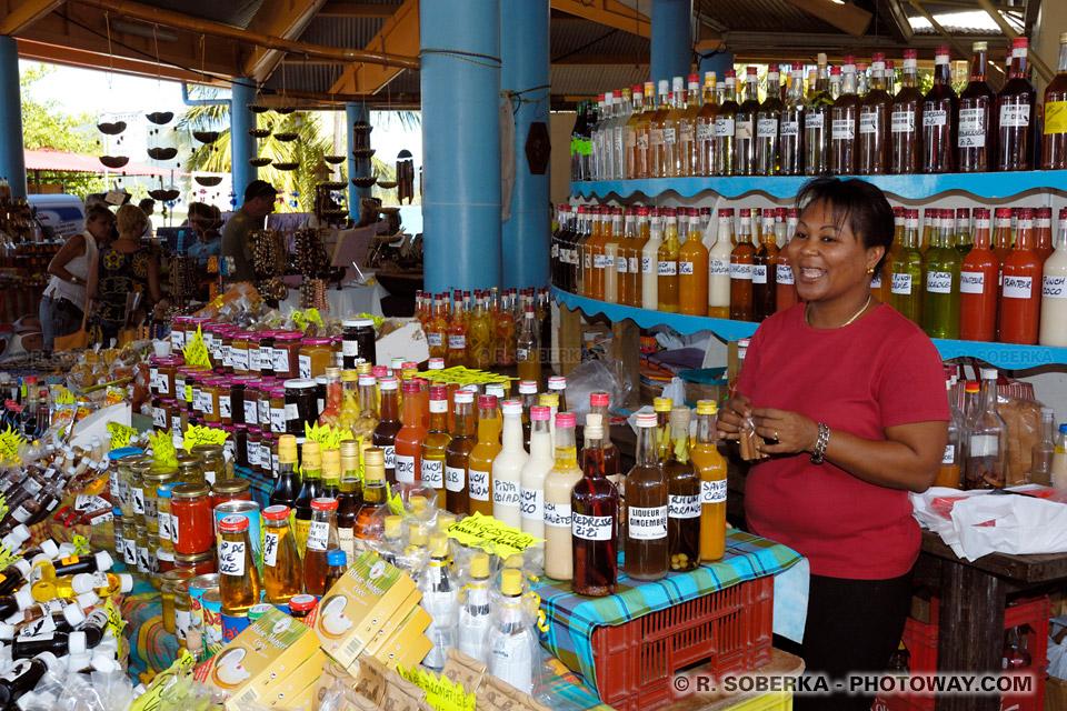 marché de Sainte-Anne en Martinique photos