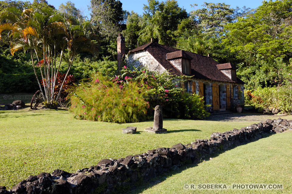 Musée de la Pagerie photo maison de Joséphine en Martinique