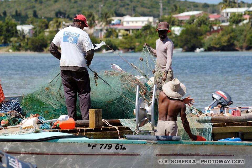 pêcheurs Martiniquais
