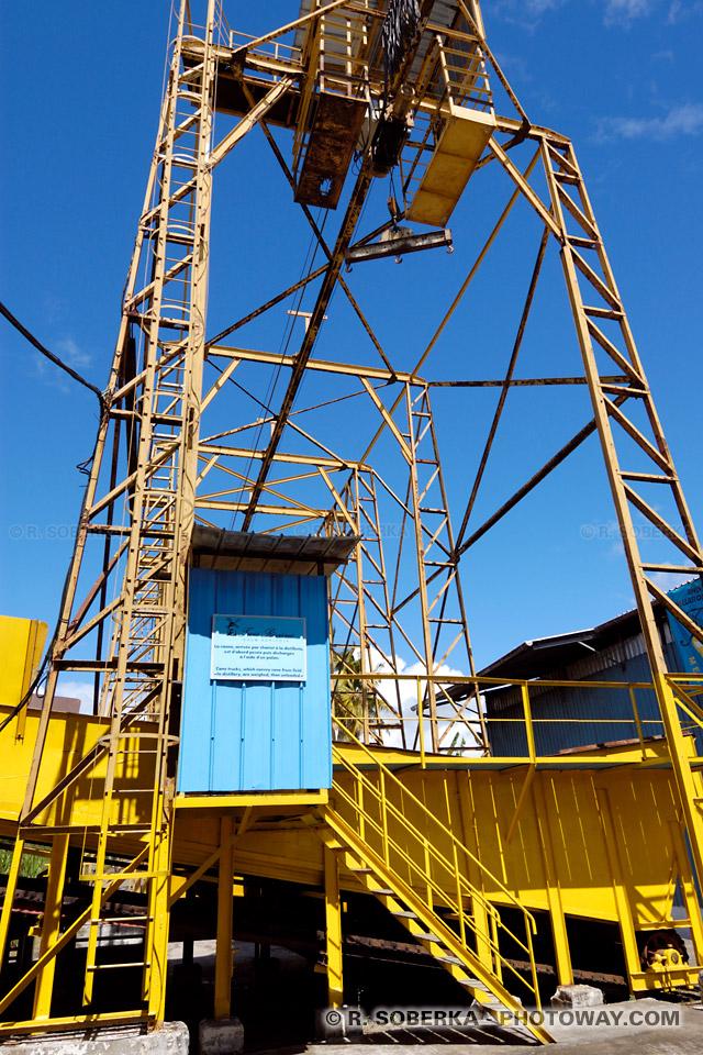 portique à la distillerie trois rivières