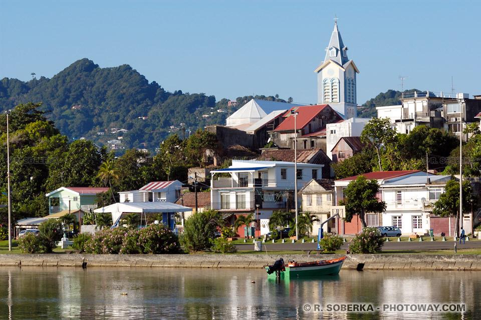 Ville du Robert en Martinique