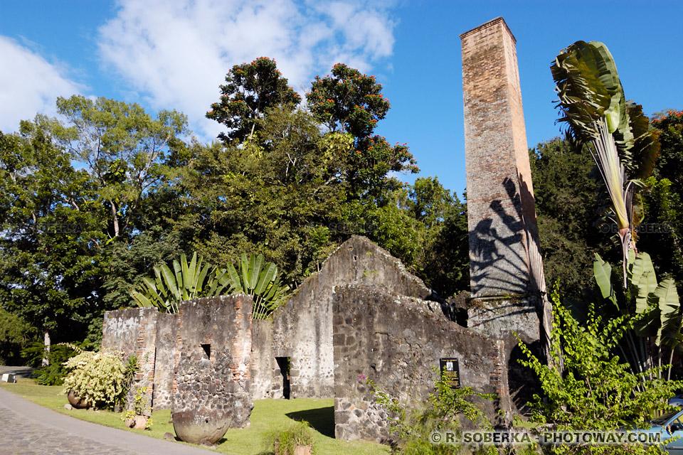 ancienne sucrerie en Martinique