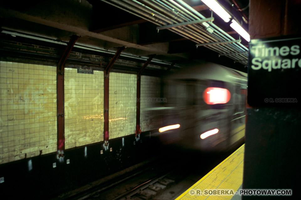 Images Photos du Subway de New York photo du métro de New York