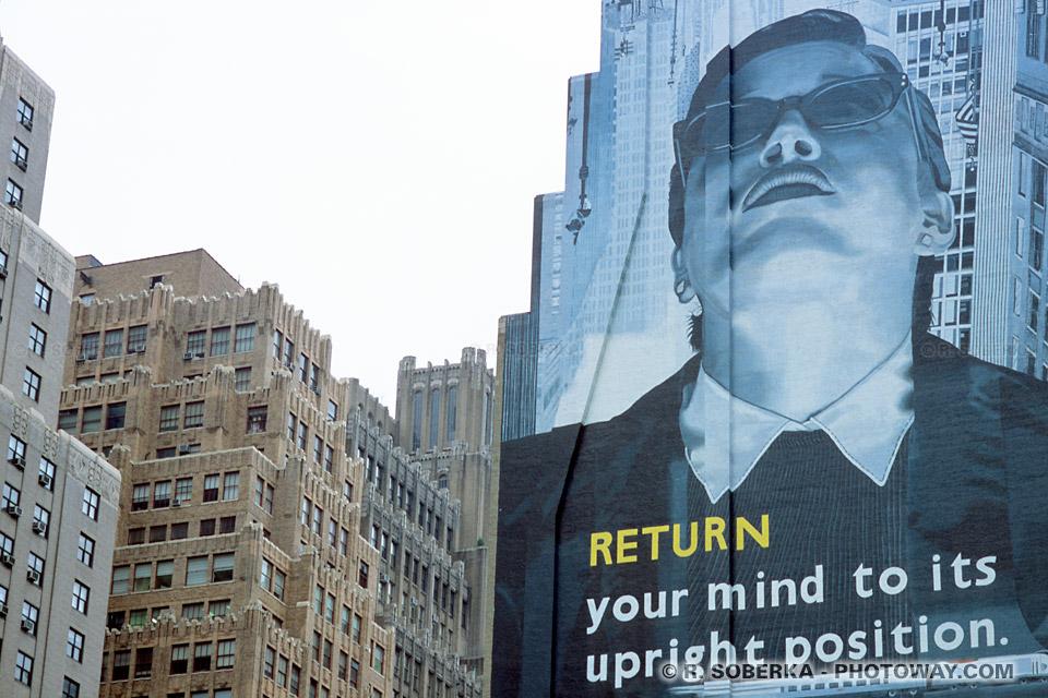 Images Photos de Big Brother photo d'affiches publicitaires à New York