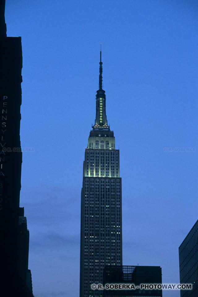 Photos empire state building le gratte ciel le plus haut du monde - Plus haut building au monde ...