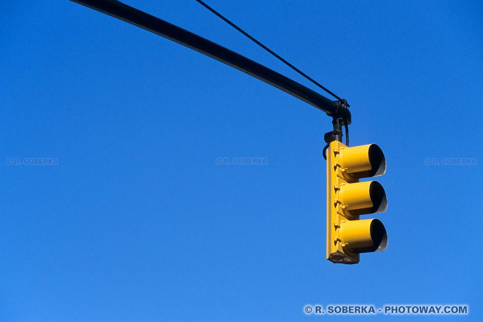 Image Feux de signalisation américains en photo de voyage à New York
