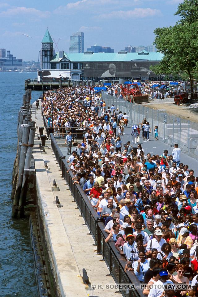 Guide touristique New York photos de Battery Park photo Manhattan