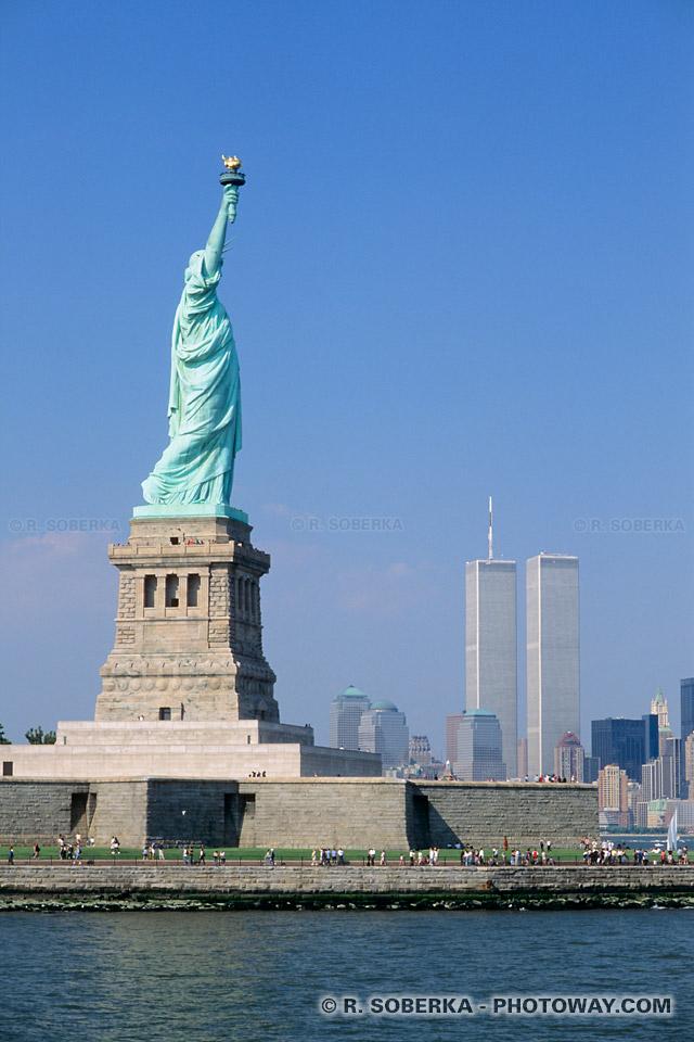 Image Emblème de New York et de l'Amérique : La Statue de la Liberté